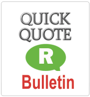 Banner Quick Quote Bulletin