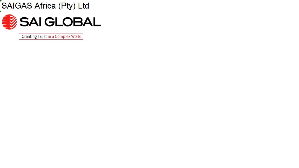 Supply Chain Network - SAIGAS Africa (Pty) Ltd